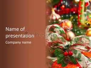 クリスマスプレゼントギフトボックス powerpointのテンプレート id 0000082845