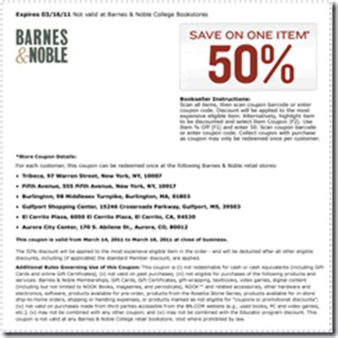 Promo Codes For Barnes And Noble Barnes And Noble Online Coupon 2017 2018 Best Cars Reviews