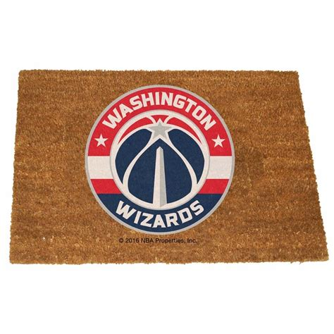 washington wizards colors washington wizards color exterior doormat