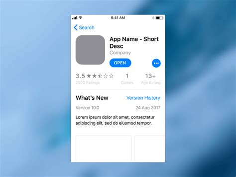 ios app template free ios 11 app store template free sketch uxfree