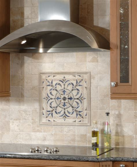 Kitchen Medallion Backsplash | sonoma tilemakers backsplash medallion