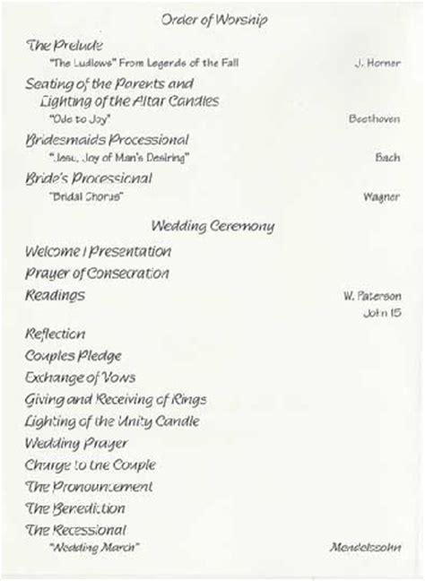 sle wedding reception program ceremony pinterest sle wedding reception program ceremony pinterest