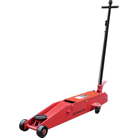 Hydraulic Floor Jacks by Strongway 5 Ton Hydraulic Frame Service Floor Floor Jacks Northern Tool Equipment