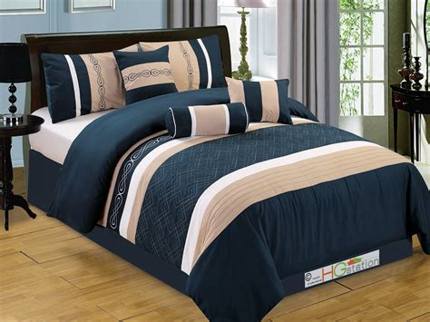 navy blue queen comforter set queen comforter set navy blue