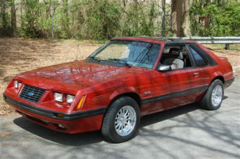 how petrol cars work 1984 ford mustang on board diagnostic system sell new 1984 ford mustang gt hatchback 2 door 5 0l in atlanta georgia united states for us