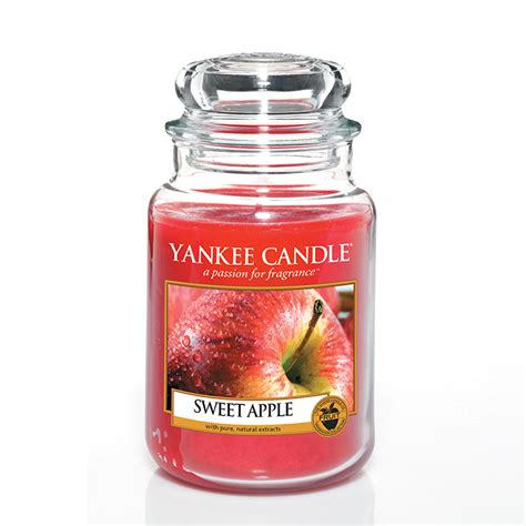 apple scents yankee candle sweet apple scented candle housewarmer jar