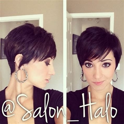 amazing textured pixie cut with bangs hairstyles weekly