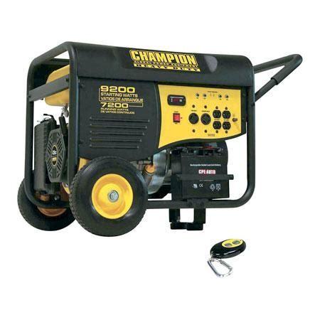 champion 41533 portable gas generators: 'key stones' of