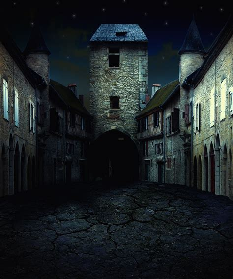 dark village wallpaper abandoned medieval village by indigodeep on deviantart