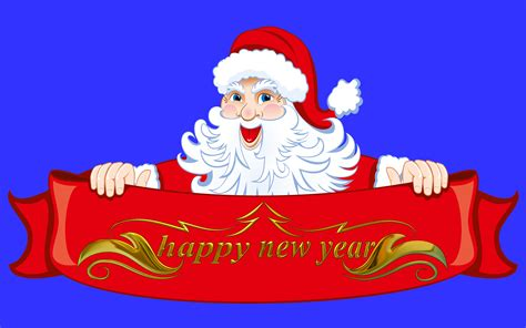 happy  year wishes  santa claus christmas postcard hd wallpapers  mobile phones tablet