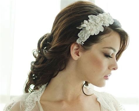 hair band hairstyle 15 wedding hairstyles for long hair that steal the show