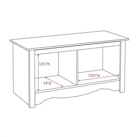 white cubby bench white twin cubby bench wsc 3620