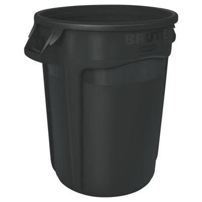 rubbermaid commercial products brute 10 gal black