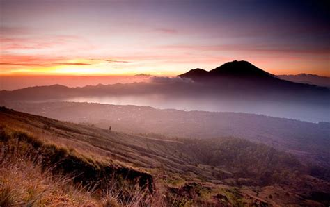 drive up mount batur early sun in the morning at mount batur bali news