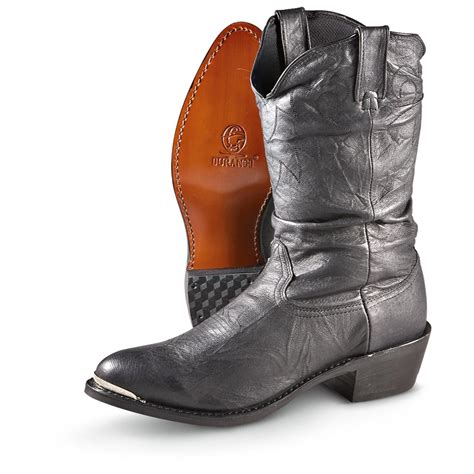 s durango boot 174 13 quot slouch boots black 204246