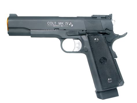 Airsoft Gun Colt 1911 Colt 1911 Mk Iv Metal Airsoft Gbb Pistol Airarmsports