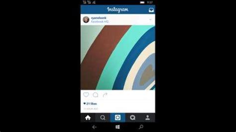 instagram beta tutorial instagram beta kini bisa diakses dari windows store