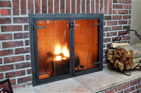 Fireplace Glass Door Installation Door Installation