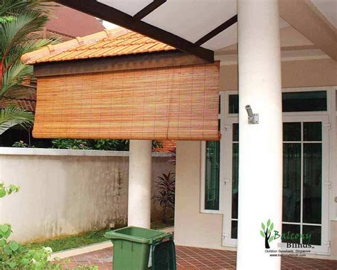 shade your balcony from the sun with outdoor blinds your outdoor sunshade singapore balconyblinds
