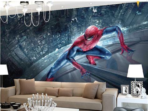 spiderman wallpaper for bedroom online buy wholesale spiderman wallpaper from china spiderman wallpaper wholesalers