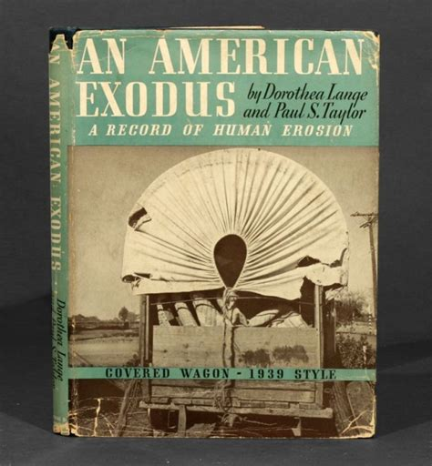 exodus biography an american exodus a record of human erosion dorothea