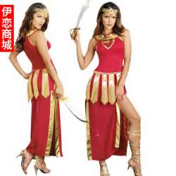 Halloween dress the ancient greek war stage performance clothing greek