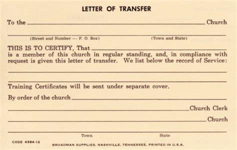 Transfer Membership Letter Church Membership Letter Sle Related Keywords Church Membership Letter Sle