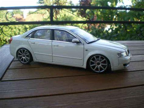 Audi A4 B6 S Line by Audi A4 B6 S Line White Wheels 19 Inches Minichs