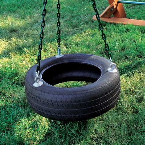 tire swing swings 3 chain tire swing woodplay playsets