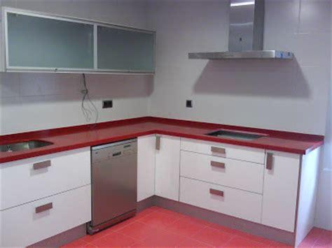 cocina blanca encimera roja opiniones sobre esta cocina decorar tu casa es