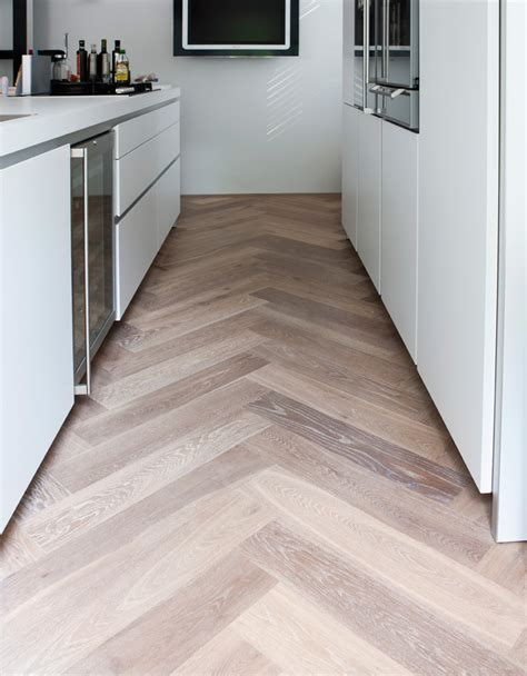 herringbone wooden floors on herringbone