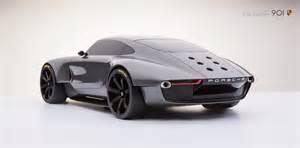 Future Porsche Porsche 911 Future Design Concept Evo
