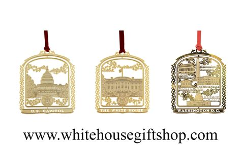 white house ornament collection ornament collection the white house dc monuments u s