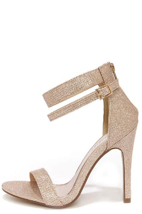Wedges Gold Gliter Wedges Murah pretty glitter heels chagne heels gold heels 29 00