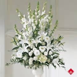 White flower arrangement for wedding ceremony in Montreal - The Flower ... 1 800 Flowers Reviews