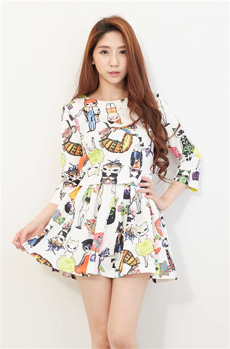 919169 Baju Fashion 3 In 1 Korea Import China Olahraga Milss Out Gaul baju dress wanita korea lucu model terbaru jual murah