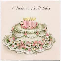 vintage birthday greeting card design shop