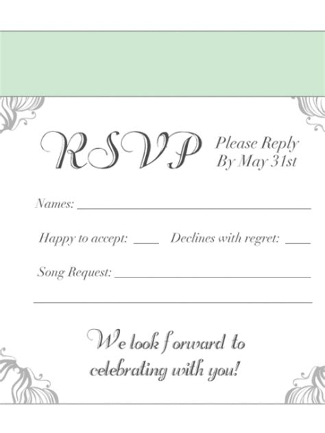 how to sign a wedding response card wedding response cards printing uk print rsvp card