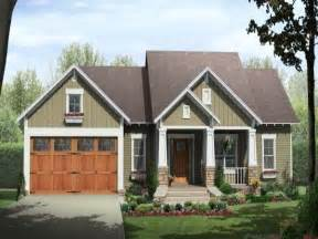 cottage plans single story craftsman house plans home style craftsman