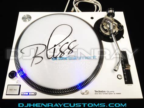 design your own record label records labels slipmats dj henray customs technic