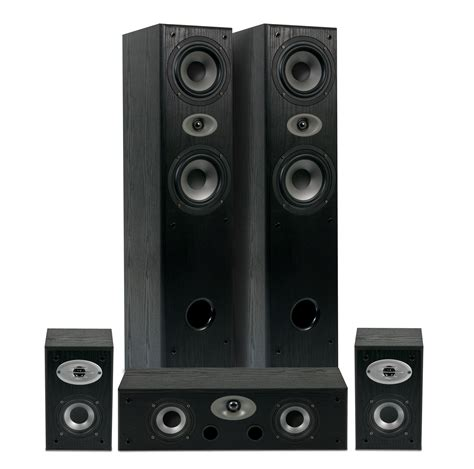 eltax experience 5 0 home theatre speaker package black