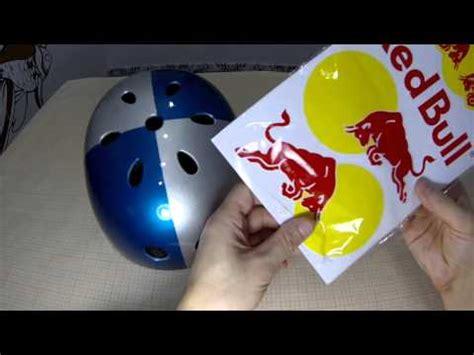 Helm Aufkleber Red Bull by How To Make A Red Bull Helmet Youtube