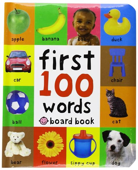 words and pictures book 100 words board book just 3 30 reg 5 99