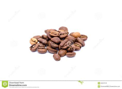 Range Coffee Bean coffee bean isolated on white background stock photo