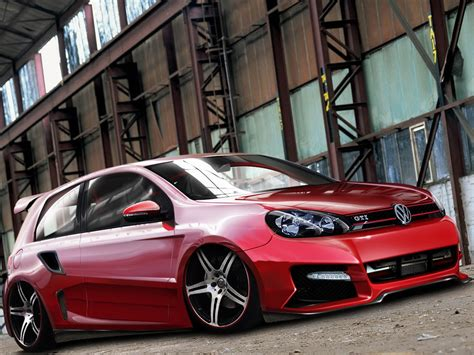 Auto Fußmatten Vw Golf 6 by Tuning Volkswagen Golf 6gt Desktop Wallpapers 1600x1200