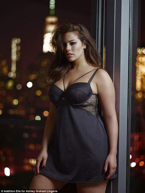 ashley graham lingerie ashley graham poses in latest collection from her lingerie