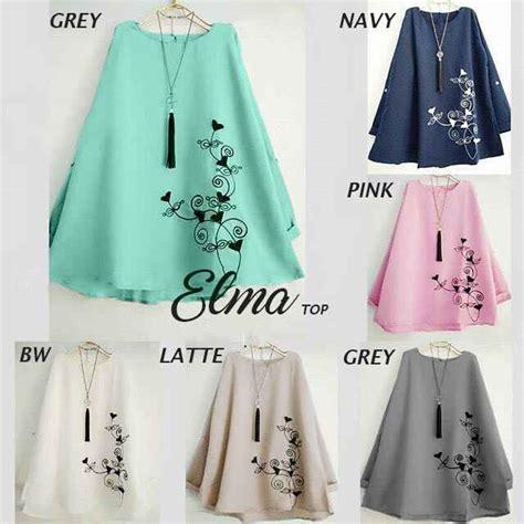 Blouse Alfi Atasan Baju Wanita baju atasan elma blouse busana wanita modern murah