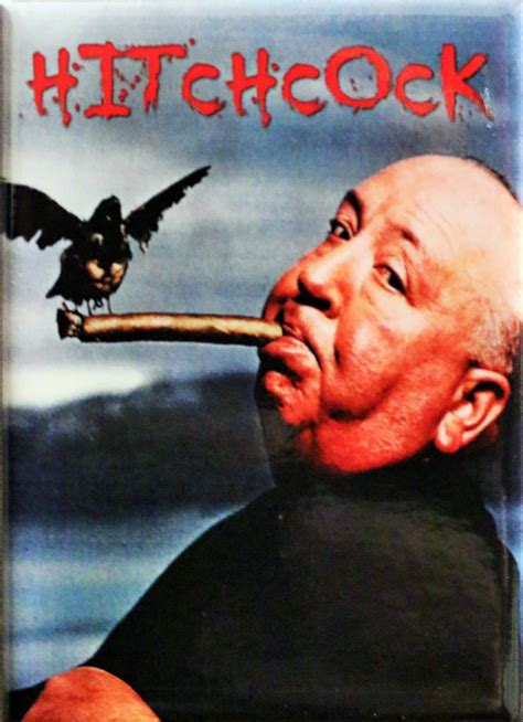 the birds alfred hitchcock fridge magnet the birds horror b