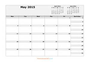 May 2015 Calendar Template by 5 Best Images Of Month Of May Calendar Printable Free