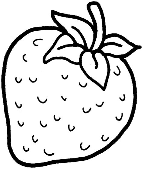 strawberry coloring pages full in glum me